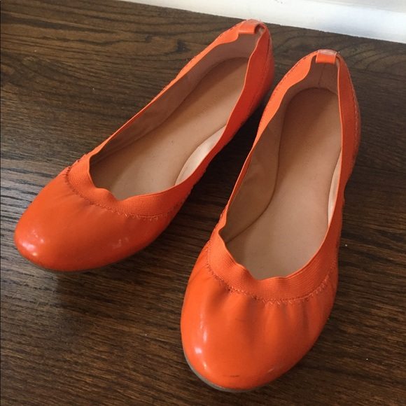 6c09158834c Banana Republic Shoes - BR Orange flats